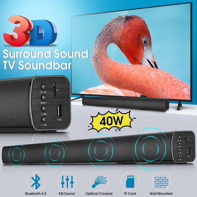Bluetooth TV Barre De Son Haut-Parleur N-S08H Home Cinéma Basse DSP 3D Surround Stéréo télécommande Audio Maison Intelligente Bluetooth Soundbar