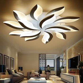 New Lobular LED Ceiling Light Acrylic Creative Home living room Bedroom Restaurant & Commercial Lighting Ceiling lamps 110-240v