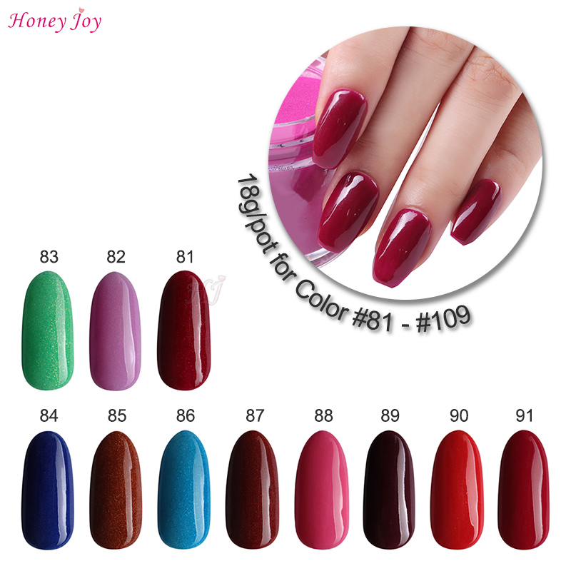 Very Fine 18g/box Dipping Powder Without Lamp Cure Nails Dip Powder Gel Nail Salon Effect Natural Dry Red Green Pink #81-#109 Always Buy Good Nails Art & Tools