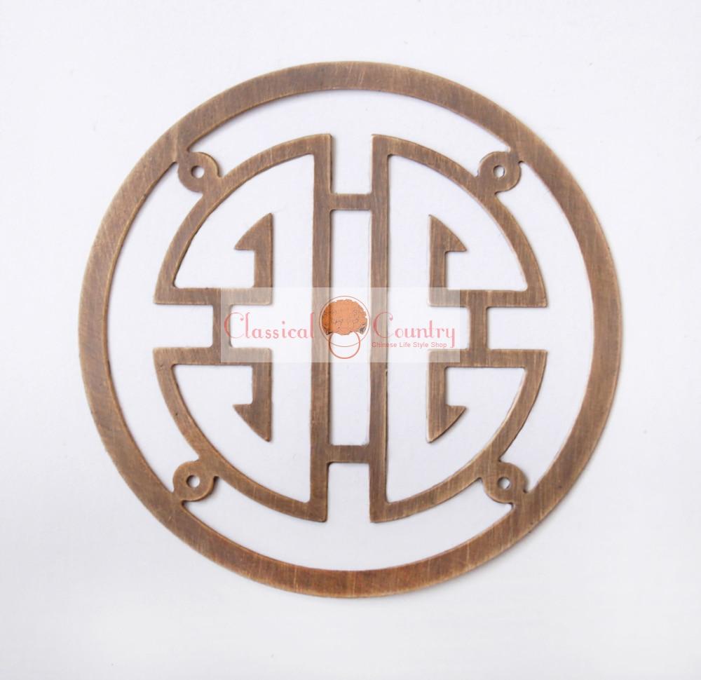 7cm chinese brass longevity symbols ideograms furniture hardware 7cm chinese brass longevity symbols ideograms furniture hardware face for cabinet trunk case jewelry box in corner brackets from home improvement on buycottarizona
