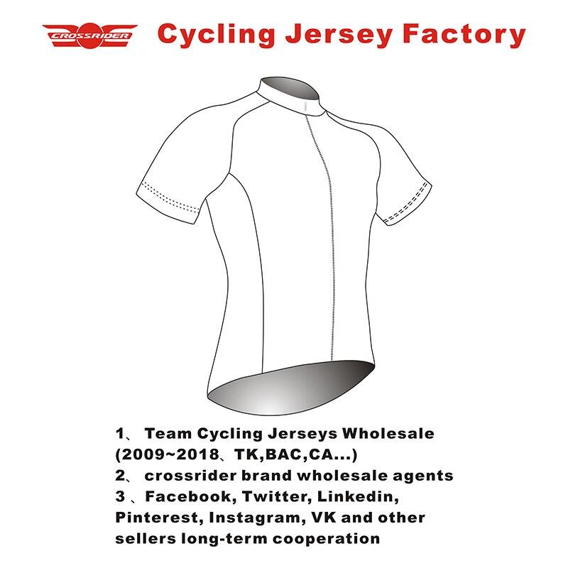Crossrider Велосипеды одежда фабрики/дешевые оптовые команда бренда майки для велоспорта комплект/Велосипеды одежда из Китая производитель
