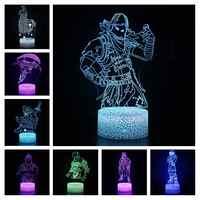 Magiclux nouveauté éclairage 3D Illusion bataille Royale lampe à LED forteresse veilleuse enfants chambre décoration créative cadeaux de noël
