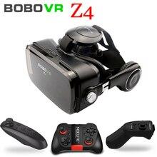 Оригинальный бренд bobovr Виртуальная реальность 3D VR очки, вблизи ее территории, Z4 популярная Fit HD с большим экраном смартфонов
