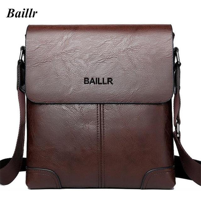 Baillr Fashion Business Men S Single Shoulder Bag Casual 12 Inch Laptop Travel Crossbody