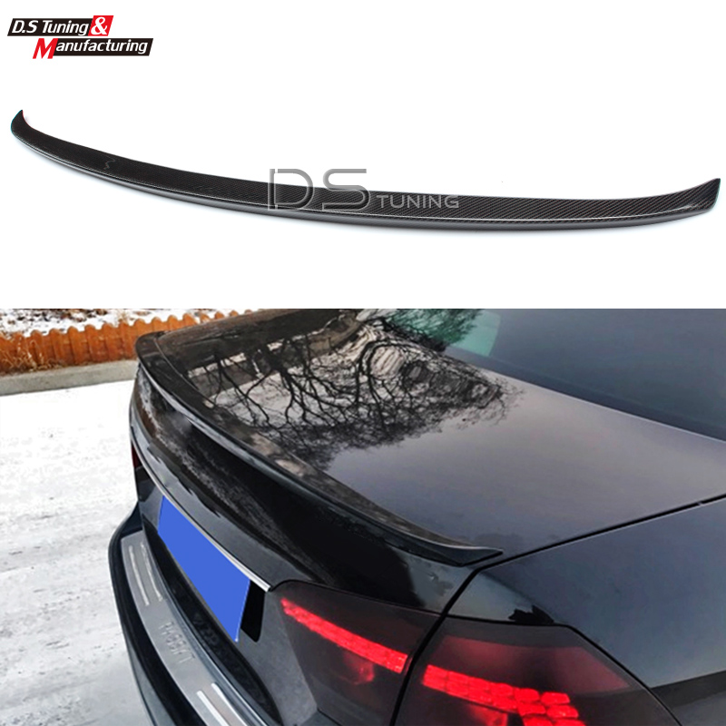 Carbon Fiber Rear Trunk Spoiler Wing For Volkswagen VW Passat Normal Style / M4 Type Boot Lip vw replacement genuine carbon fiber rear trunk spoiler wing back rear spoiler for volkswagen passat 2011 2015 car styling
