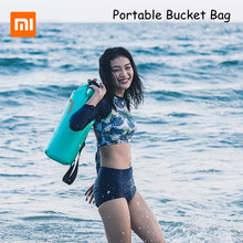 Xiaomi Mijia Portable Bucket Bag 10L Outdoor Waterproof for Beach Swimming Travel Diving Snorkeling Package
