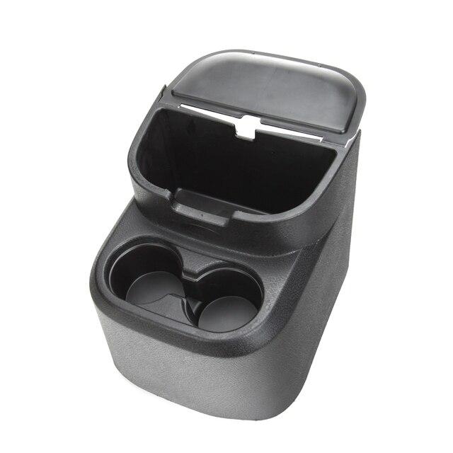 NUEVA Negro Trasero Portavasos Agua Bandeja de Caja de Almacenamiento de Bolsillo Organizador para Jeep Wrangler 4 Puertas 2011-2015 Coche-estilo