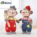 Doce Encantador Bonito Kawaii Bichos de Pelúcia Do Bebê de pelúcia Crianças Brinquedos para Meninas Presente de Natal Aniversário 13 Polegada Senbao Macaco Boneca Metoo