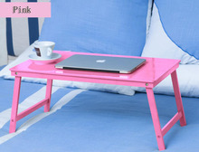 Fashion style Portable Lapdesks Folding Laptop Table Bed computer desk bamboo wood Folding Laptop Table good quality SE26