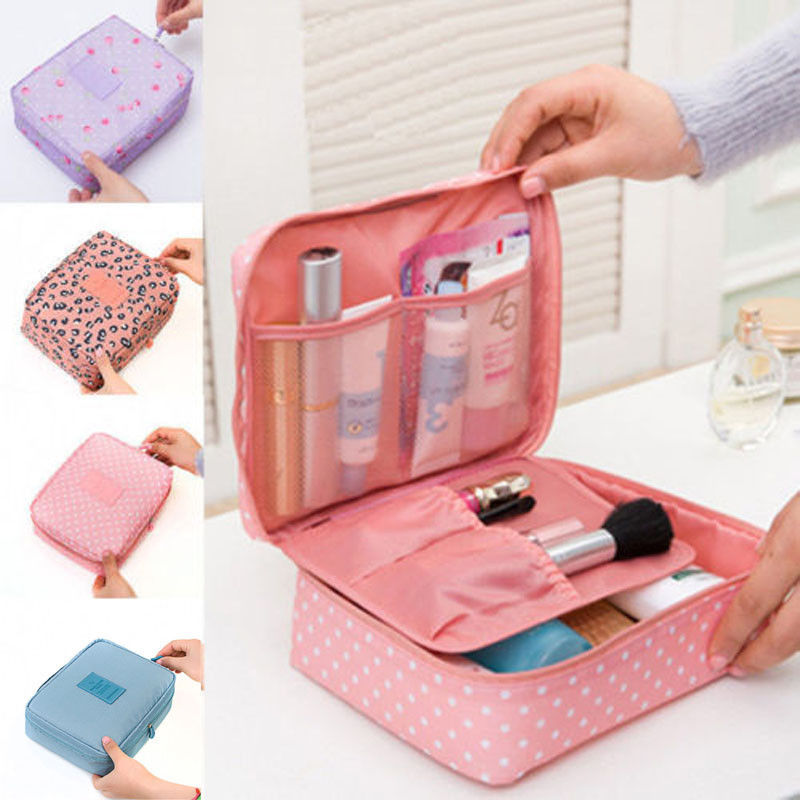Professional Large Makeup Bag Cosmetic Case Storage Handle Organizer Multifunction Travel Bag