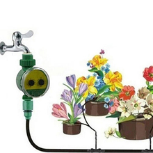 Two Dial Home Garden Watering Water Timer 1-16 Set Programs Irrigation Controller