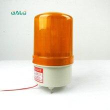 DC 24V electric door warning light flash lamp dc 24v 5w red rotating flash light industrial signal warning lamp rmoyb
