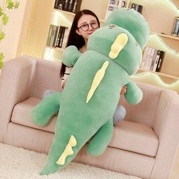 stuffed toy huge 150cm cartoon dinosaur plush toy down cotton very soft doll zipper closure sleeping pillow christmas gift s2858