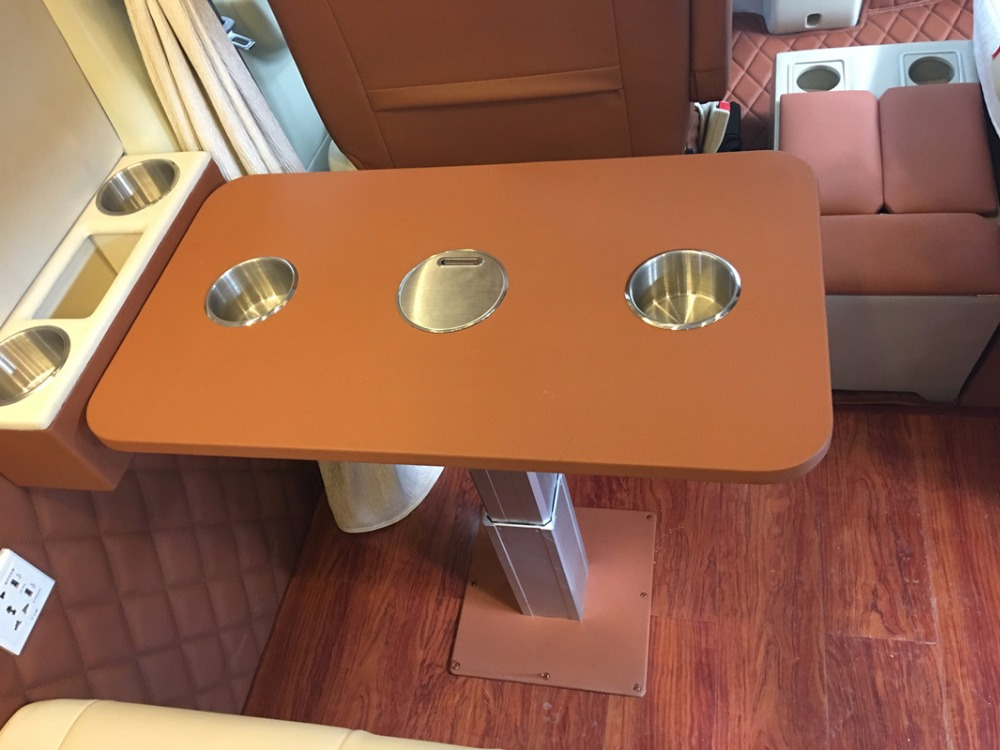 Rv hoogte verstelbare tafel carvan tafel set vrij instelbaar 340
