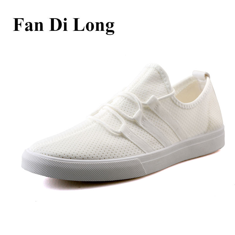 White Men Casual Shoes Mesh Breathable Loafers Walking Shoes Outdoor Trainers 2017 Summer Flats zapatillas hombre,free shipping leather casual shoes zapatillas hombre casual sapatos business shoes oxford flats hand made man shoe free shipping sv comfort