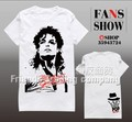 Free shipping 2017 New arrival fashion crop tops Michael Jackson Classic fashion T-shirt  summer t shirts for women JuiOy brand