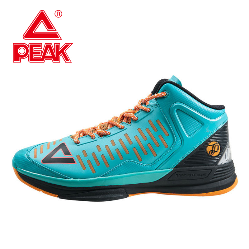 PEAK SPORT Tony Parker TP9 II Men Basketball Shoes Professional Player Sneaker Gradient Dual FOOTHOLD Tech Boots Size EUR 40-50 peak sport men outdoor bas basketball shoes medium cut breathable comfortable revolve tech sneakers athletic training boots
