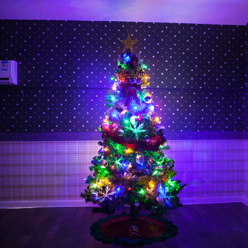 infant shining christmas tree 15m5feet with decorations star light festival diy large christmas party tree in trees from home garden on aliexpresscom