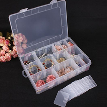 Plastic Detachable 24 Slots Fishing Lure Bait Hooks Tackle Accessory Storage Case Box Small Scoop Box 24 Compartments NEW