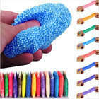 20 g/bag Slime Diy Slime Fluffy Soft Clay Floam Stress Scented Foam Beads Slime Sand Tools Slime Toys For Children