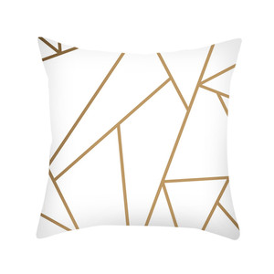 Image 4 - Black & White Geometric Throw  Pillow Cover Soft Comfortable Pillow Covers Square Cushion Case For Sofa Bedroom Car 2019 New