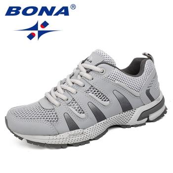 a35b83a9 BONA/Новое поступление, женские кроссовки в классическом стиле, уличные  кроссовки для бега,