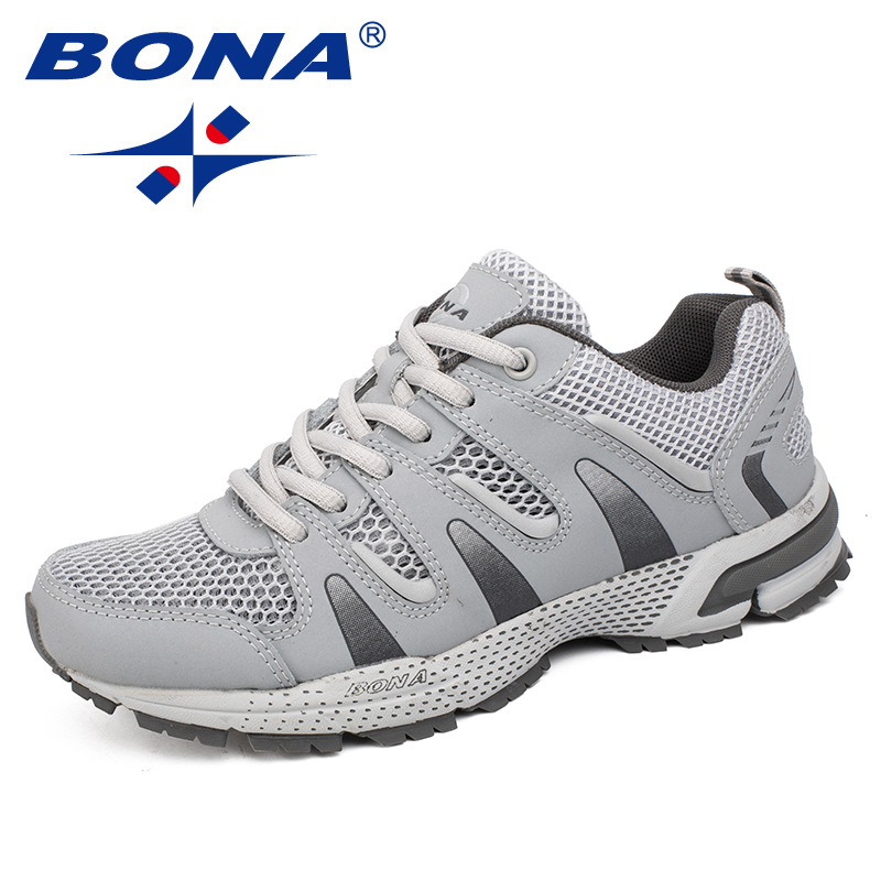 BONA New Arrival Classics Style Women Running Shoes Outdoor Jogging Sneakers Comfortable Athletic Shoes Women Fast Free Shipping peak sport men outdoor bas basketball shoes medium cut breathable comfortable revolve tech sneakers athletic training boots