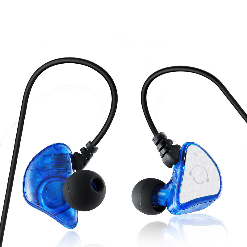 Newest HIFI Sport Earphone Super Bass Noise Canceling  Headphones Stereo Sweat proof Headset with MIC For Phone fone de ouv kz es3 hybrid hifi headphones dual unit moving iron in ear headphones bass stereo headset sport earphone for mobile phone earbud