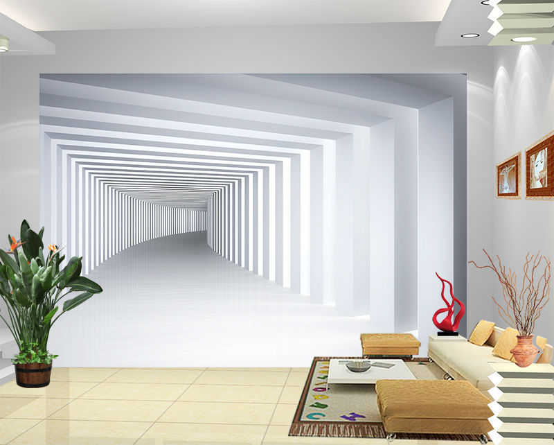 Best Buy D View Corridor Of Trees Large Mural Portrait Bedroom Living Room  Tv Backdrop Wallpaper From Reliable Wallpaper Clock Suppliers On Bo With D  View ... Part 53