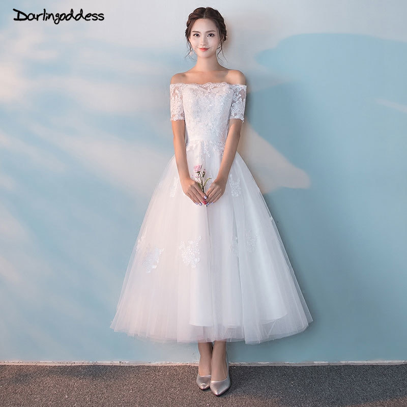 Buy vintage ankle length wedding dresses and get free shipping on ...