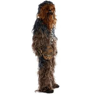 Image 4 - מלחמת הכוכבים Chewbacca קוספליי תלבושות ליל כל הקדושים מסיבת תחפושות חליפת סרבל קסדת כפפות תיק נעל כיסוי