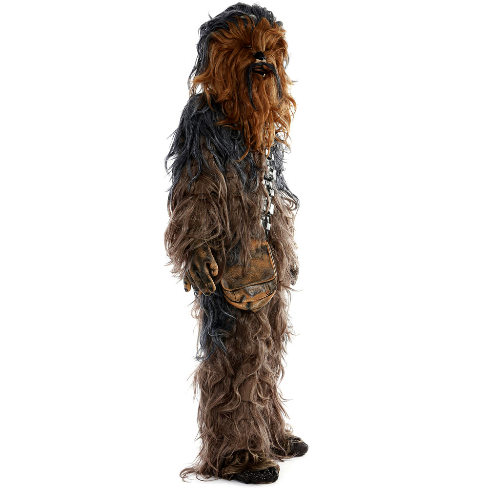 Star Wars Chewbacca Cosplay Costume Halloween Party Suit Costumes jumpsuit helmet gloves bag Shoe Cover