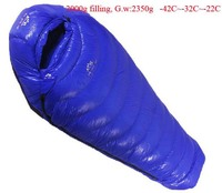 Goose Down 2000g Filling 42C 22C Ultra Light Down Outdoor Goose Down Outdoor Adult Breathable Thickening