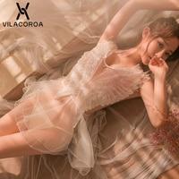 Сексуальное женское нижнее белье в сеточку, ночное белье, черное, белое, кружевное, с вышивкой, с v-образным вырезом, без рукавов, ночное мини-...