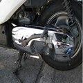 Motorrad Zubehör für die Yamaha JOG ZR/EVOLUTION PRO BJ Motorrad roller chrom Motor abdeckung-in Motorhaube aus Kraftfahrzeuge und Motorräder bei