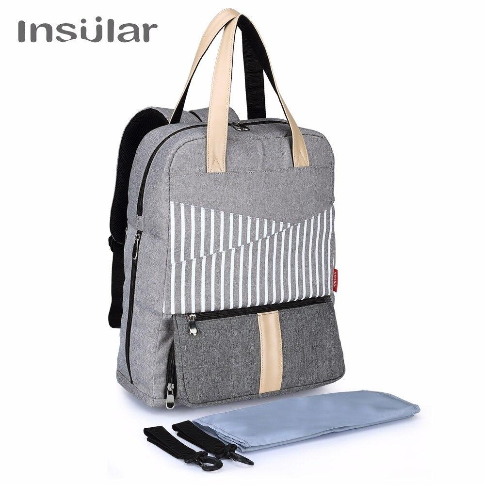 New Fashion Mummy Nappy Bags Brand Large Capacity Baby Bag Travel Backpack Waterproof Nursing Diaper Bag Maternity Bag Baby Care стоимость