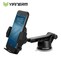 Yianerm Big Sticky Sucker Gel Phone Holder One Quick Release Button Dashboard Windshield Car Mount Holder
