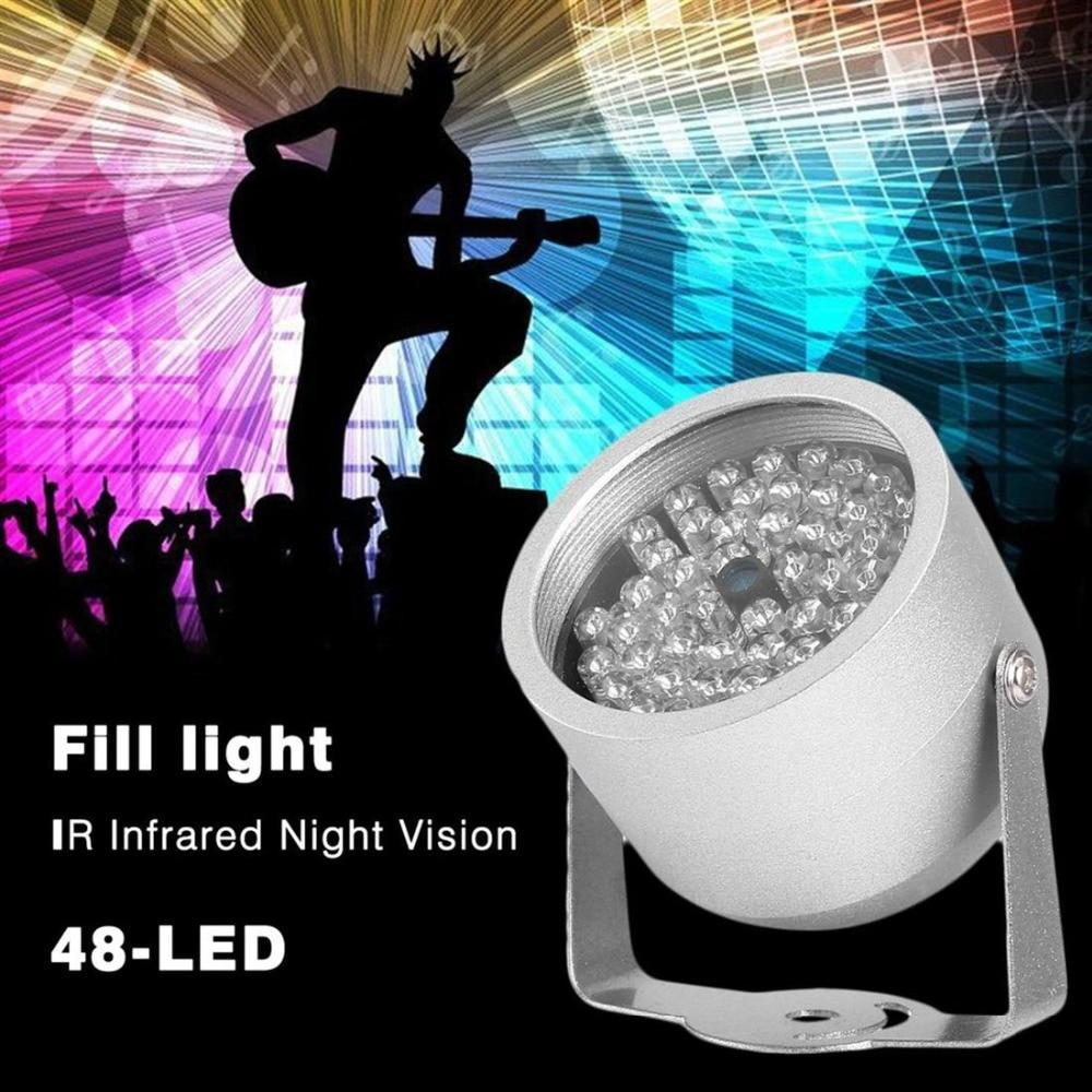 48 LED illuminator Light Infrared IR Led lamp 850nm Wavelength IR illuminator night vision Lighting for CCTV Camera Fill Light 2