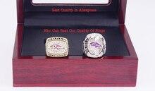 Que Puede Vencer A Nuestros Anillos, plata de Aleación de Zinc de alta Calidad de Super Bowl de Los Baltimore Ravens Anillo de Campeón con Cajas De Madera