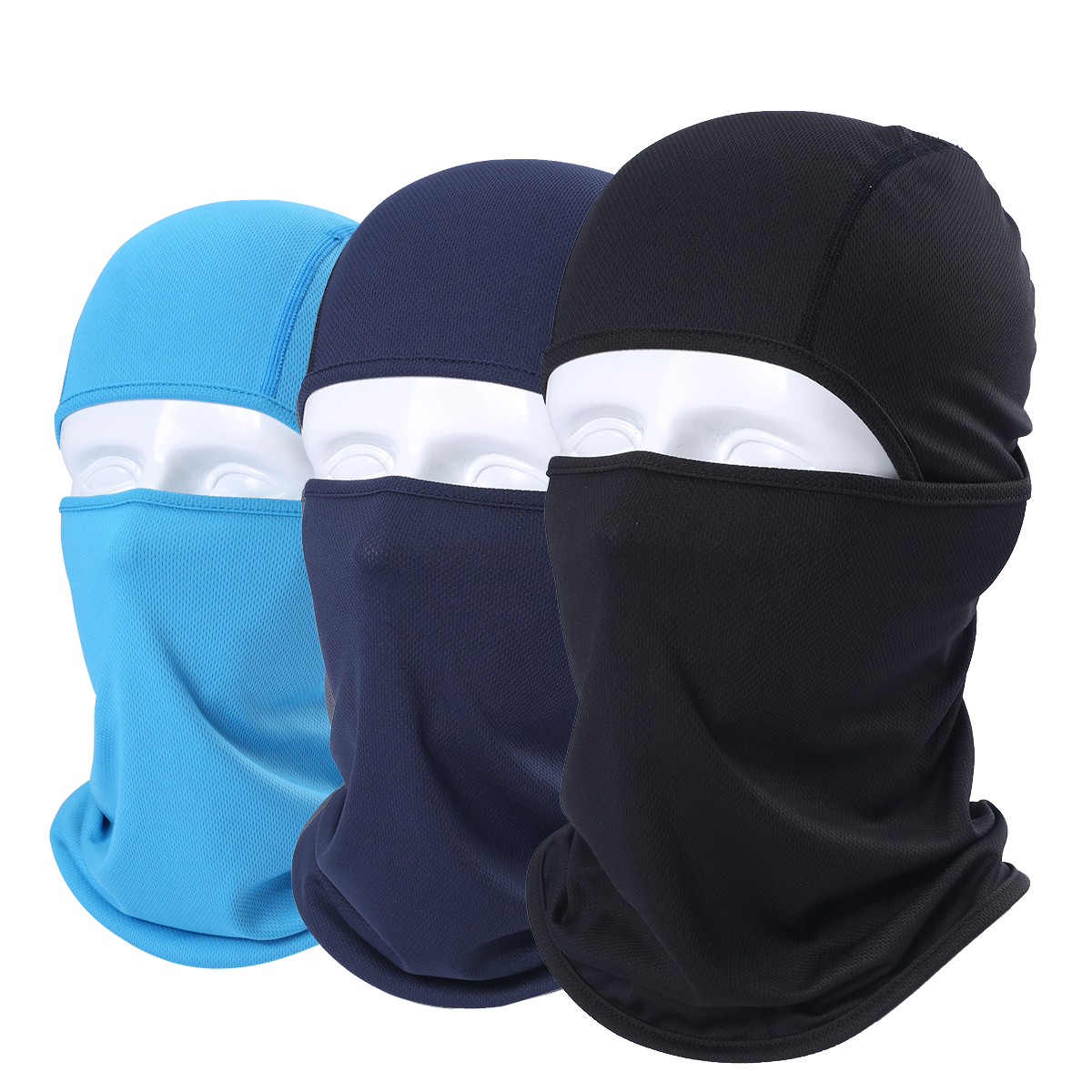 Multifunctional Windproof Balaclava Breathable Tactical Full Face Mask Paintball Airsoft Paintball Snowboard Bicycle Headgear