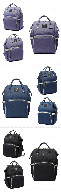 HTB1G4rNKf1TBuNjy0Fjq6yjyXXaA Lequeen Fashion Mummy Maternity Nappy Bag Large Capacity Nappy Bag Travel Backpack Nursing Bag for Baby Care Women's Fashion Bag