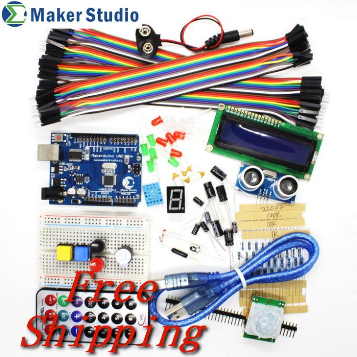 Advanced kit for arduino uno with user guide