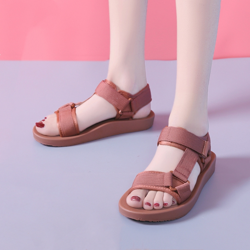 Women Platform Sandals Summer Breathable Canvas Rome Beach Sandals Female Leisure Ladies Shoes sandalias mujer 2019 1909wWomen Platform Sandals Summer Breathable Canvas Rome Beach Sandals Female Leisure Ladies Shoes sandalias mujer 2019 1909w