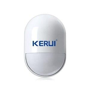 Image 3 - KERUI P829 אלחוטי 433MHZ PIR תנועה תנועה גלאי חיישן עבור G18 G19 W18 GSM PSTN 100m אבטחת בית מעורר מערכת