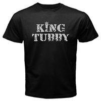 100 Cottons Print T Shirt Fashion Cute New King Tubby Electronic Music Logo Designer T Shirt