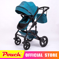 VOONDO 2018 New Style baby stroller light folding umbrella car can sit can lie ultra light portable on the airplane
