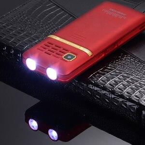 Image 4 - Unlocked Flip One Key Dual Torch One Key FM Bluetooth SOS Speed Dial Whatsapp Old Man Senior Metal Mobile Phone P210