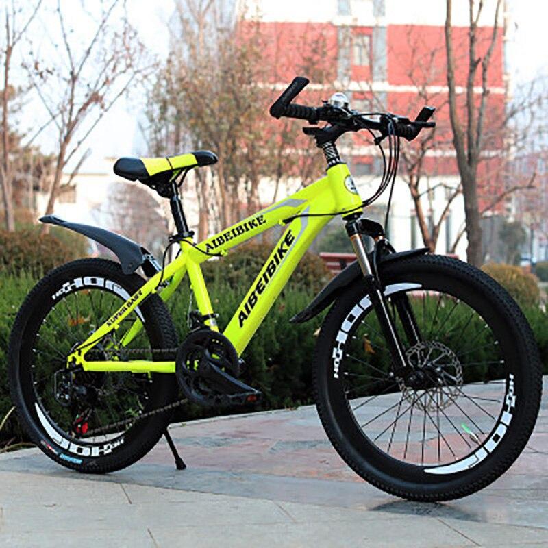 Mountain Bike Students Adult Speed Change Two-Disc Brake Shock Absorber 22-Inch Mountain Bike
