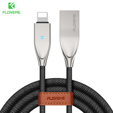 US $3.99 20% OFF|FLOVEME For Lightning To USB Cable For iPhone X 8 7 6 6S 5 5S SE For iPad Charger Auto Disconnect LED Sync Cables Fast Charging -in Mobile Phone Cables from Cellphones & Telecommunications on Aliexpress.com | Alibaba Group