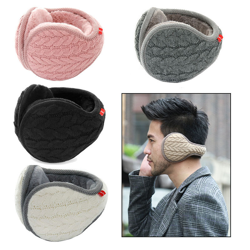 Foldable Unisex Fashion Knitted EarMuffs